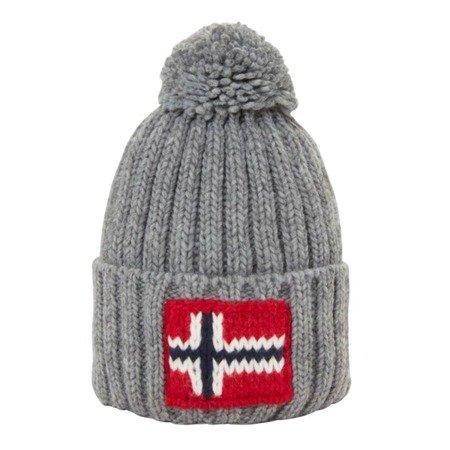 Zimowa czapka Napapijri  Semiury 2 Med Grey